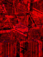 Red Background With An Abstract Texture, With A Spectacular Rhythm, With Dark And Light Accents.