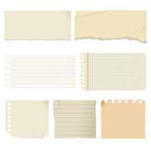 アンティーク風の用紙素材セット