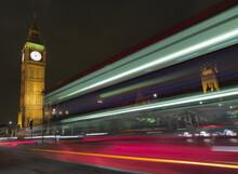 Beautiful Shot Of Big Ben In The UK At Night