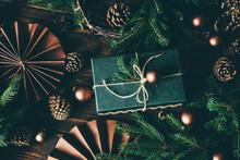 Christmas Decoration And Christmas Present.