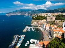 Italy, Campania, Amalfi Coast, Sorrent, Bleu Village, Marina Piccola