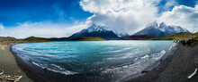 Chile, Patagonia, Torres Del Paine National Park, Lago Nordenskjold