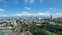 Aerial View Of La Sabana Park And San Jose, Costa Rica From The West