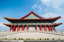 Taiwan, Taipei, Chiang Kai-ShekÔøΩMemorial Hall, National Theater And Concert Hall