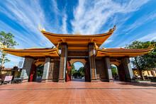Vietnam, Phu Quoc Island, Ho Quoc Pagoda Exterior