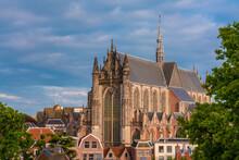 Netherlands, South Holland, Leiden, Hooglandse Kerk Cathedral