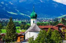 Austria, Tyrol, Gran, Village Church In Tannheimer Tal