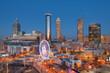 Leinwandbild Motiv Atlanta, Georgia, USA Downtown Skyline