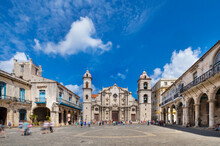 View To Havana Cathedral, Havana, Cuba