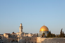 Israel, Jerusalem, Old Town, Dome Of The Rocks