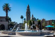 USA, California, San Diego, Balboa Park, California Bell Tower