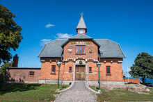Denmark, Bornholm, Old House In Allinge-Sandvig Sogn