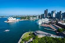 Outlook Over Sydney With Opera House, New South Wales, Australia