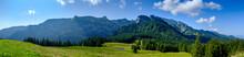 Germany, Bavaria, Arzbach, Scenic Panorama Of BenediktenwandÔøΩridge
