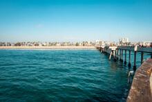 USA, California, Los Angeles, Venice Beach, Pier