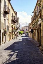 Italy, Sicily, Petralia Soprana, Old Town