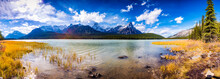Canada, Alberta, Waterfowl Lakes, Icefields Parkway