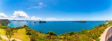 New Zealand, Coastline Of Te Whanganui-A-Hei Marine Reserve In Summer