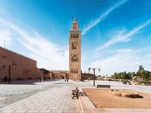 Morocco, Marrakesh, Djami Al Fina, Koutoubia Mosque