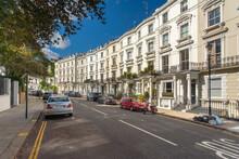 White Victorian Houses, Notting Hill, London, UK