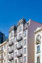 Portugal, Lisbon, Art Deco Buildings