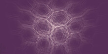 Abstract Purple Background With Lines