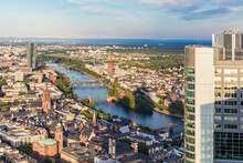 Buildings In City Against Sky, Frankfurt, Hesse, Germany