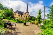 Germany, Rhineland-Palatinate, Linz Am Rhein, St Martin's Church