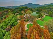 Guangdong Province,Guangzhou,Baiyun Mountain In Autumn