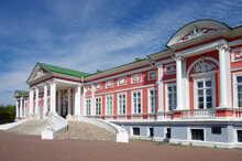 MOSCOW, RUSSIA - May, 2021: Kuskovo Estate Of The Sheremetev Family In Spring Day
