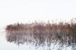 wschód słońca nad jeziorem, wieczór nad jeziorem ze wschodem słońca, mazurskie jezioro ze wschodem słońca