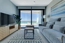 Salon Mieszkanie Minimalizm Czystość Luksus