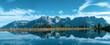 canvas print picture - Erholungsraum Natur Tiroler Berge