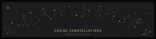 Set Of Zodiac Constelattions.
