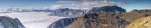 La Réserve Naturelle Nationale De Sixt-Passy Sous Une Mer De Nuages En Haute-Savoie