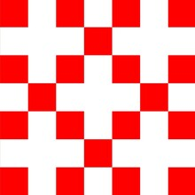 White Cross And Red Squares Patterns And Design