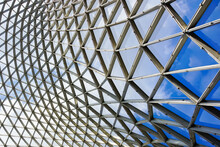 Steel And Glass Ceiling Patterns