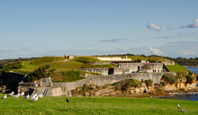 Bare Island, La Perouse, Botany Bay, Australia. Built In 1885 As A Fort To Defend Sydney In Times Of War. It Was Intended To Be Nearly Invisible From The Water.