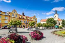Chodova Plana Town, West Bohemia, Czech Republic
