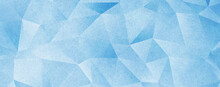 Blue Low Poly Triangle Abstract Background With Rough Distressed Texture High Resolution Wallpaper For Cover ,cards And Posters