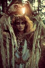 Enigmatic Shaman Woman