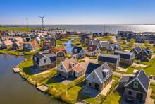 Aerial Scene Of Resort Poort Van Amsterdam