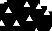 Black And White Wallpaper In Op Art Style Pattern For Modern Cover