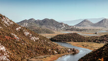 Montenegro - View From The Height Of The Rijeka Crnojevića River, A Tributary Of The Lake Skadar