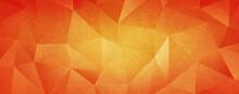 Orange Grunge Texture Low Poly Backdrop Background