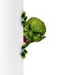 Zombie Monster Vertical Banner