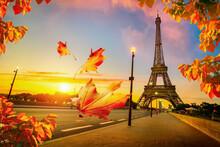 Beautiful Autumn In Paris