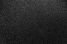 Black Grained Textured Background