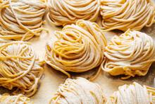 Batch Of Handmade Fresh Pasta
