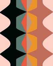 Modern Geometric Abstract Pattern